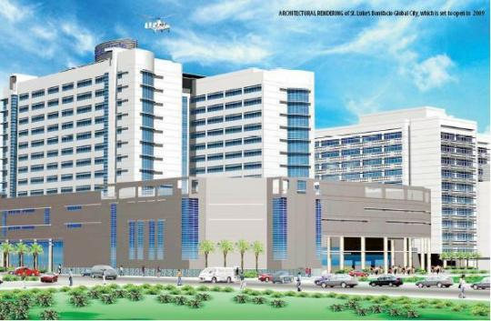 St. Luke\'s Hospital rendering