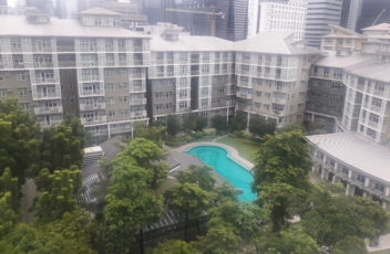 Two Serendra 3BR for sale facing inner garden and pool